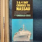 Eastern Steamship : Ss Emerald Seas Accommodation Rate flyer