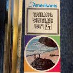 Chandris: Sailing Singles 1971 folder