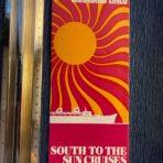 Chandris: South to the Sun Cruises folder