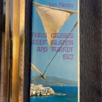Chandris: TSS Fiesta Greek Islands and Turkey 1972
