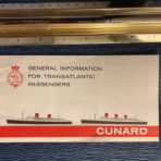 Cunard Line: QM QE General Information Booklet