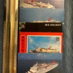 Carnival Cruises: 5 postcard set