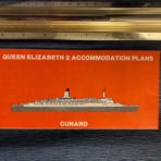 Cunard Line: QE2 1983 red deck plan