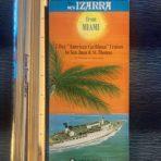 Naviere De Cruceros: MV Izarra folding plan, sailings and rates