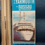 Yarmouth Cruise lines: booklet  Yarmouth Castle and he