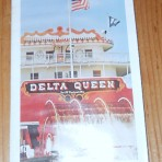 Delta Queen Steamboat Company: SS Delta Queen 1975 River Cruises folder
