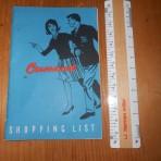 Cunard Line: Onboard Cunard Shopping List
