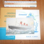 Cunard Line: Small Queen Mary Lot