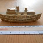 Hudson River day Line: Peter Stuyvesant Brass model