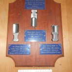 French Line: SS France Turbine parts plaque
