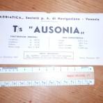 Adriatica Line:  Ausonia  deckplan 1967