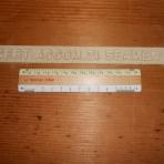 United States Lines: SSUS crew quarters cast Aluminum sign