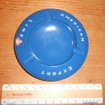 American Export Lines: Blue UFO ashtray restocked!