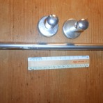 United States Lines: SS United States Bathroom towel bars approx 12″ Restocked