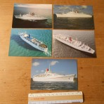 Carnival Cruises: First generation ship 5 postcard set