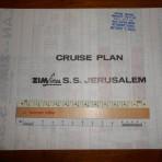 Zim Lines:  Jerusalem  colored deckplan