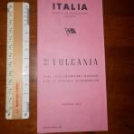 Italian Line: Vulcania Pink Covered Deckplan 1960