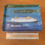 Home Lines: SS Atlantic Resin Souvenir Tray