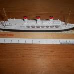 Hamburg Sud: Cap Arcona Mercator Model
