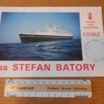 Polish Ocean Lines: SS Stefan Batory Brochure