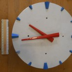 United States Lines: SS United States Clock.