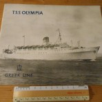 Greek Line: TSS Olympia Ultimate Introduction Brochure