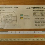 Adriatica Line: MS Enotria colored deckplan