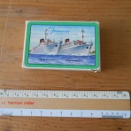 Furness bermuda Line: Ocean Monarch and  Queen of Bermuda Playing cards