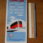 French Line: August 1959 sailing schedule