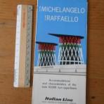 Italian Line: Michelangelo and Raffaello cutaway