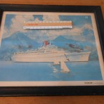 Carnival Cruise Lines: Festivale Print- Watercolor Picture