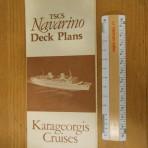 Karageorgis Cruises: Naravino deckplans