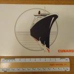 Cunard : QE2 Picture holder