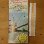 Greene Line: Delta Queen River cruises 1960 foldout.