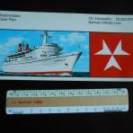 German Atlantic Line: TS Hanseatic color Deckplan Booklet