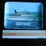 Cunard Line: Cunard Princess and Countess tip tray.