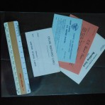 United States Lines: 4 onboard cards