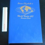 Cunard Line: QE2 World Cruise 1977 Souvenir book