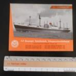 United Netherlands Navigation: MS Giessenkerk Deckplan Foldout