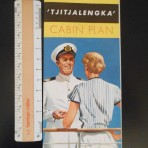 Royal Interocean Lines:  Tjitjalengka Deckplans plus