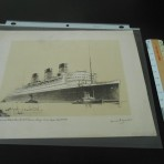 Cunard Line: Queen Mary Frank Mason Maiden Voyage Rendering
