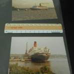 "Cunard Line: QE2 two ""Maxcards"""