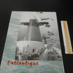 French Line: SS France L' Atlantique newspaper June 1962