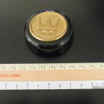 Royal Caribbean: Cobalt and Brass Paperweight