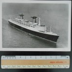 French Line: SS France 5x7ish profile photo.