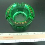 Lauro Lines: Heavy Green Ashtray
