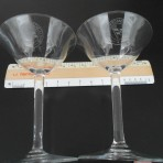 Rotterdam Lloyd: Pair of Champagne glasses
