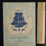 """United States Lines: """"Today in Paris"""" booklet distributed on board the SS United States"""