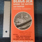 Black Sea Shipping: Sailing Schedules 1969