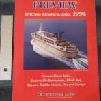 Epirotiki Lines: Spring – Summer- Fall 1994 Brochure
